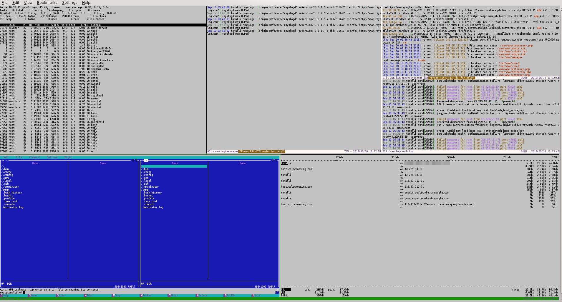 Website/DNS server/Remote Desktop on a cloud VPS